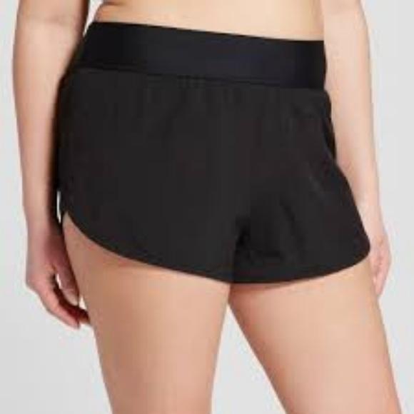Costa Sol Pants - Nwt Costa Sol Black Tactel Board Shorts Swim 1X